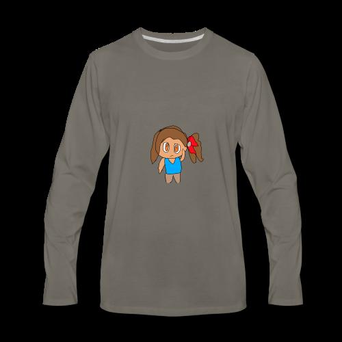 Ayla sad! - Men's Premium Long Sleeve T-Shirt