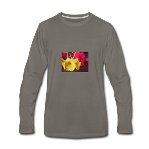 Exotic Flowers - Men's Premium Long Sleeve T-Shirt
