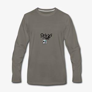 Sebas 1Draw - Men's Premium Long Sleeve T-Shirt