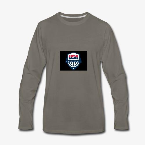 Team USA phone cases or shirts - Men's Premium Long Sleeve T-Shirt