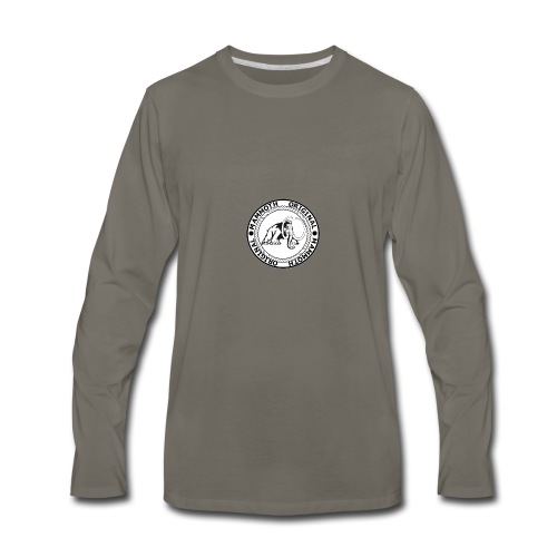 Mammoth Original Standard Logo - Men's Premium Long Sleeve T-Shirt