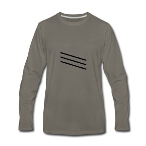 slash - Men's Premium Long Sleeve T-Shirt