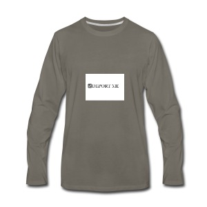 I didn't vote for him - Men's Premium Long Sleeve T-Shirt