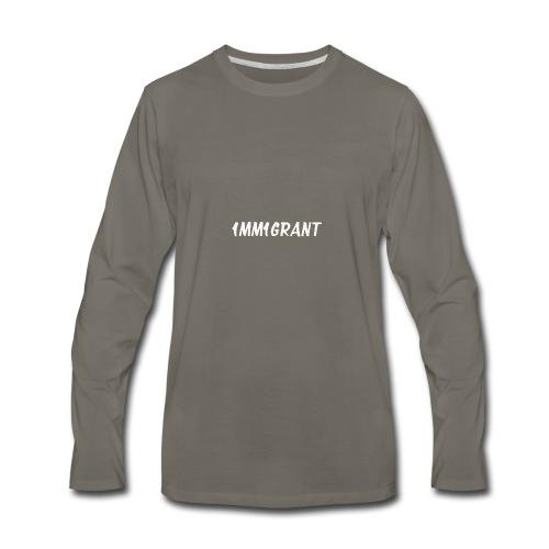 1MM1GRANT White - Men's Premium Long Sleeve T-Shirt