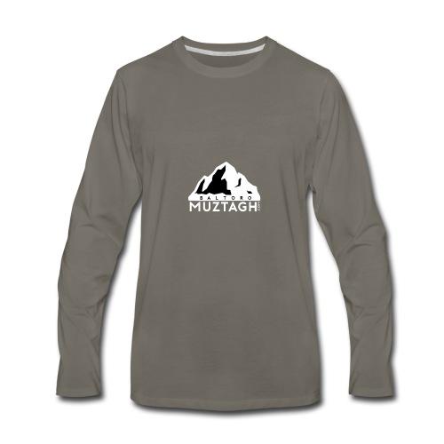 Baltoro_Muztagh_White - Men's Premium Long Sleeve T-Shirt