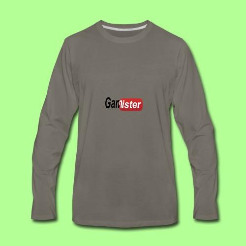 gamister_shirt_design_6 - Men's Premium Long Sleeve T-Shirt