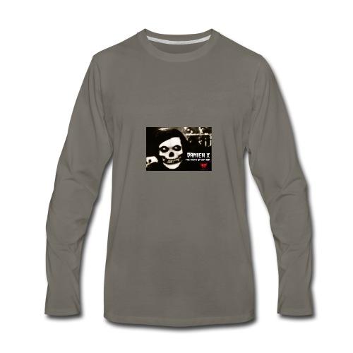 Crimson Ghost Logo - Men's Premium Long Sleeve T-Shirt