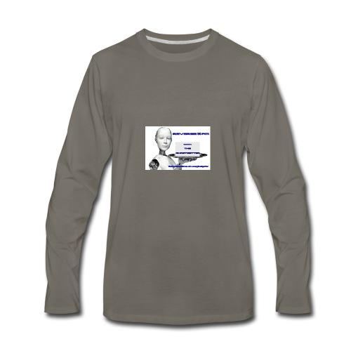 Reverse Banner - Men's Premium Long Sleeve T-Shirt