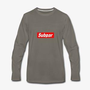 Subpar - Men's Premium Long Sleeve T-Shirt
