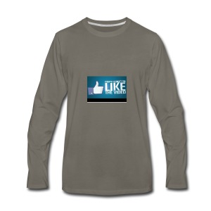 Don't forget to leave like - Men's Premium Long Sleeve T-Shirt