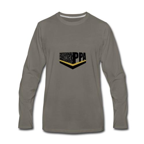 PPA logo 1 - Men's Premium Long Sleeve T-Shirt