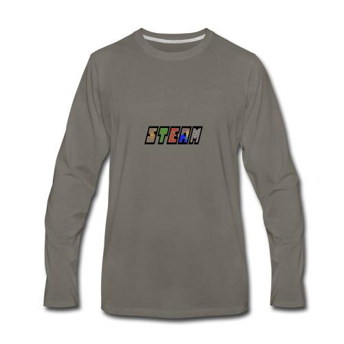 STEAM - Men's Premium Long Sleeve T-Shirt