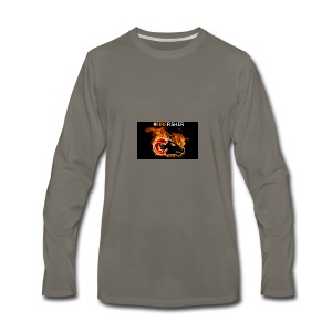 Fire_Fisher - Men's Premium Long Sleeve T-Shirt