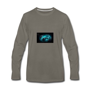 cool headphone music HD wallpaper - Men's Premium Long Sleeve T-Shirt