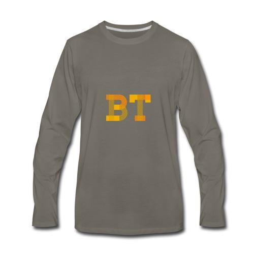 BeakerTeck Logo - Men's Premium Long Sleeve T-Shirt