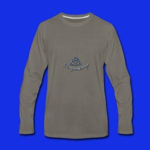 Morganafreya Celtic Knot Icon - Men's Premium Long Sleeve T-Shirt