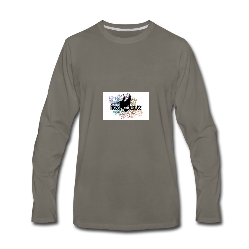 Freedove Gear and Accessories - Men's Premium Long Sleeve T-Shirt