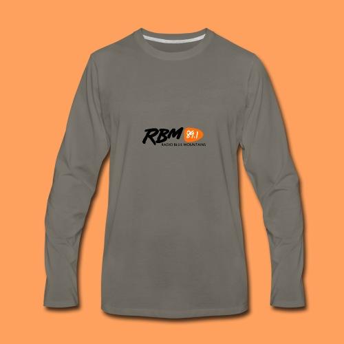 RBM Logo - Orange - Men's Premium Long Sleeve T-Shirt