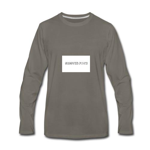scooter path - Men's Premium Long Sleeve T-Shirt