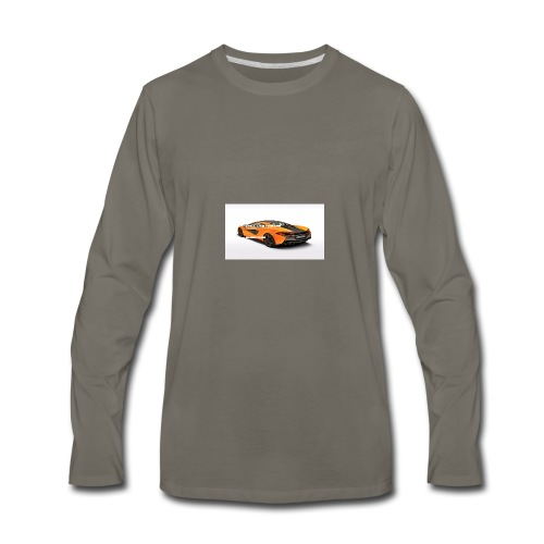 ChillBrosGaming Chill Like This Car - Men's Premium Long Sleeve T-Shirt