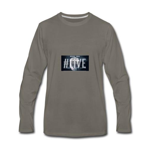 Break Free Go Live - Men's Premium Long Sleeve T-Shirt
