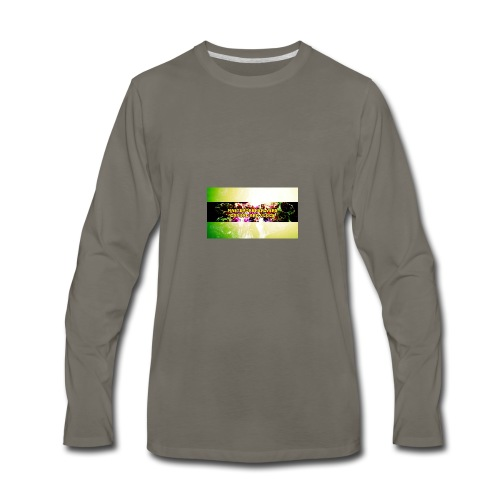 FotoJet_Design - Men's Premium Long Sleeve T-Shirt