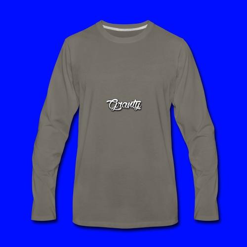 Official Logo of Granty - Men's Premium Long Sleeve T-Shirt