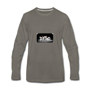 Dyso Platinum design - Men's Premium Long Sleeve T-Shirt