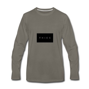T H I C C T-shirts,hoodies,mugs etc. - Men's Premium Long Sleeve T-Shirt