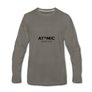 Atomic Design Brand Logo - Men's Premium Long Sleeve T-Shirt