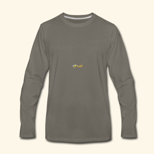 Be Happy - Men's Premium Long Sleeve T-Shirt
