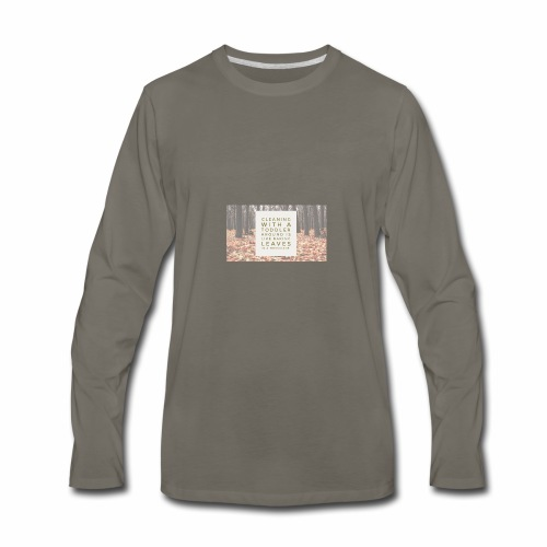 CleanLeaves - Men's Premium Long Sleeve T-Shirt