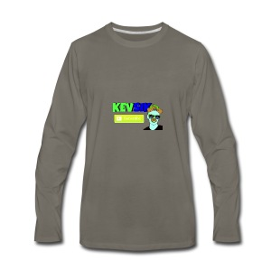 KEVSIK Hoodie - Men's Premium Long Sleeve T-Shirt