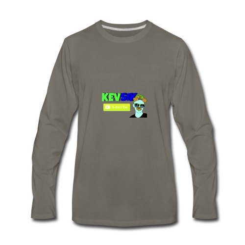KEVSIK Hoodie - Men's Premium Long Sleeve T-Shirt