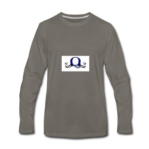 Q logo - Men's Premium Long Sleeve T-Shirt