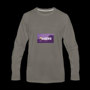 Millez313 with background Tee - Men's Premium Long Sleeve T-Shirt