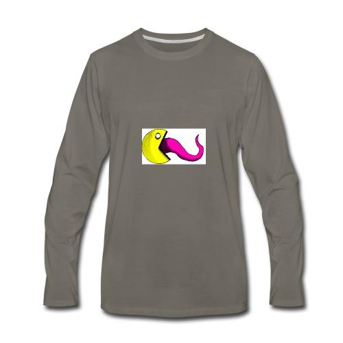 creepy pac - Men's Premium Long Sleeve T-Shirt