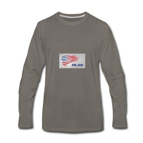 USA Independence Day 2 - Men's Premium Long Sleeve T-Shirt