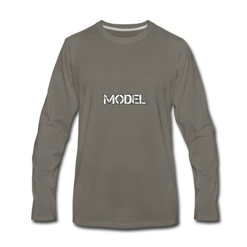 MODEL - Men's Premium Long Sleeve T-Shirt
