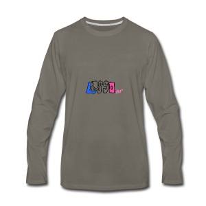 Drawing - Men's Premium Long Sleeve T-Shirt