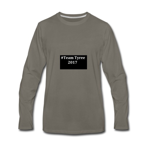 Team_tyree - Men's Premium Long Sleeve T-Shirt