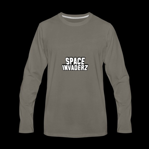 Space Invaderz - Men's Premium Long Sleeve T-Shirt