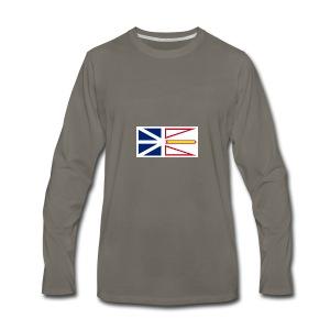 1200px Flag of Newfoundland and Labrador svg - Men's Premium Long Sleeve T-Shirt