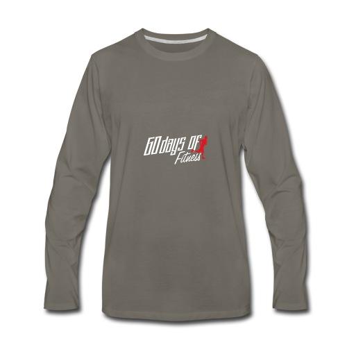 60 Days Of Fitness - Men's Premium Long Sleeve T-Shirt
