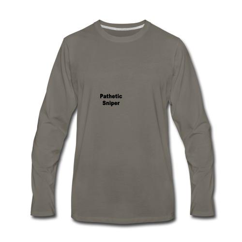 PatheticSniper Sweater - Men's Premium Long Sleeve T-Shirt
