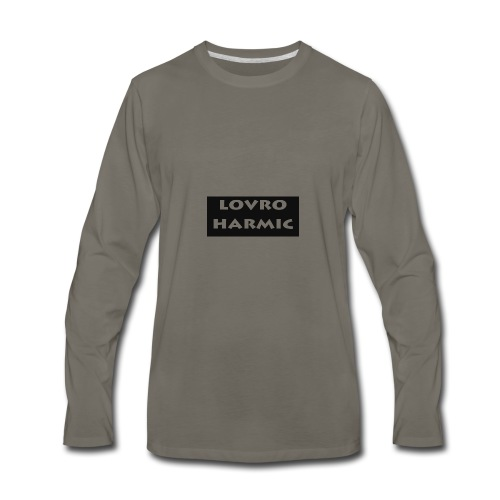 Lovro STUFF - Men's Premium Long Sleeve T-Shirt