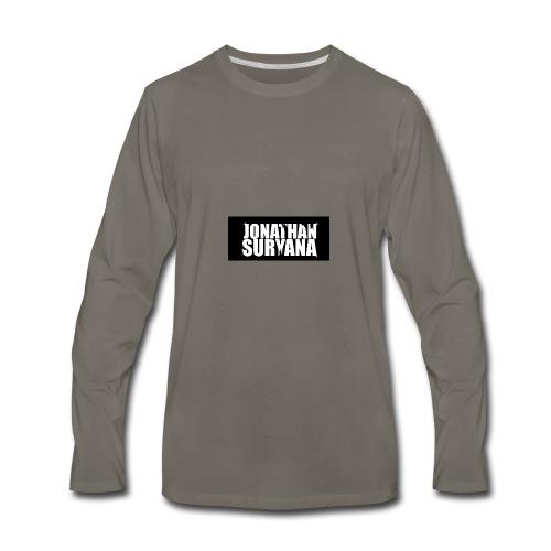 bling bling jonathan suryana - Men's Premium Long Sleeve T-Shirt