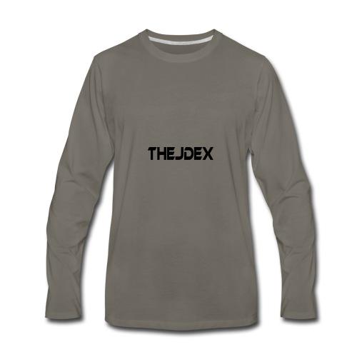 Black Logo - Men's Premium Long Sleeve T-Shirt