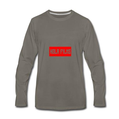 OfficialHolaDesign1 - Men's Premium Long Sleeve T-Shirt