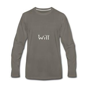 Will - Men's Premium Long Sleeve T-Shirt